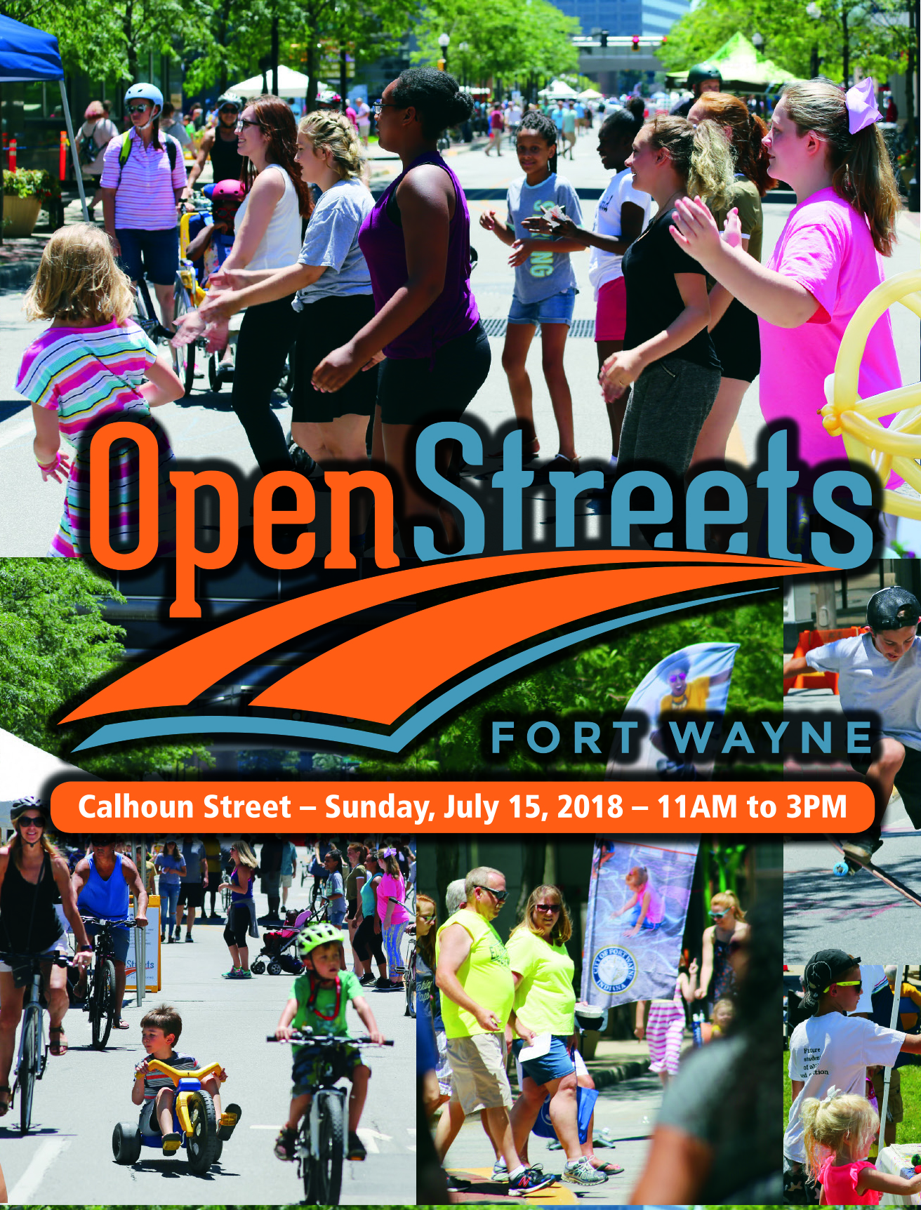 OpenStreets Post Card 4up FRONT
