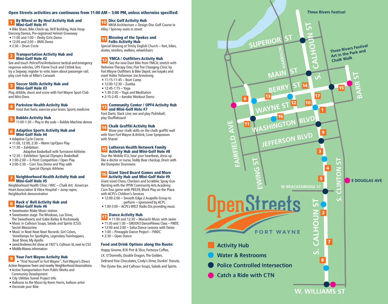 Open Streets City of Fort Wayne