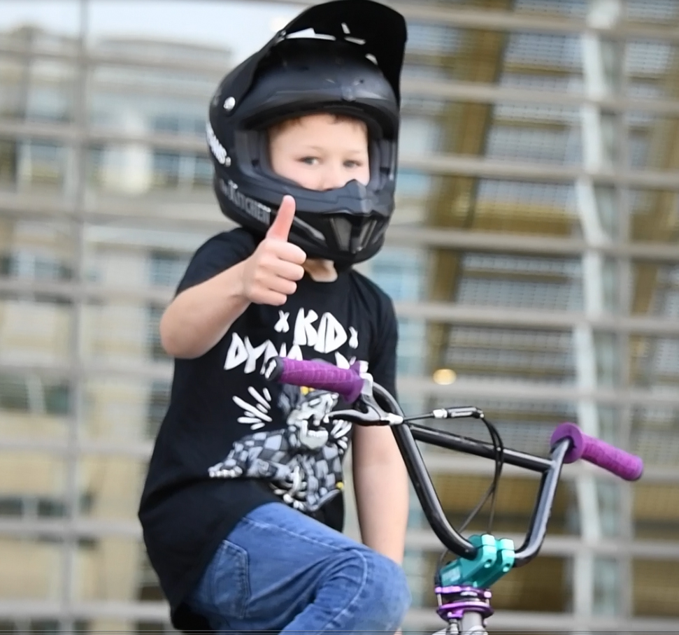 Boy on BikeCropped