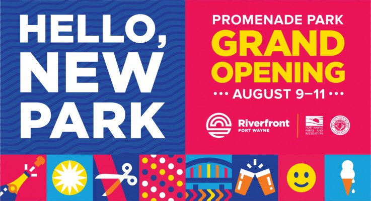 Promenade Park Grand Opening Set for August 9-11